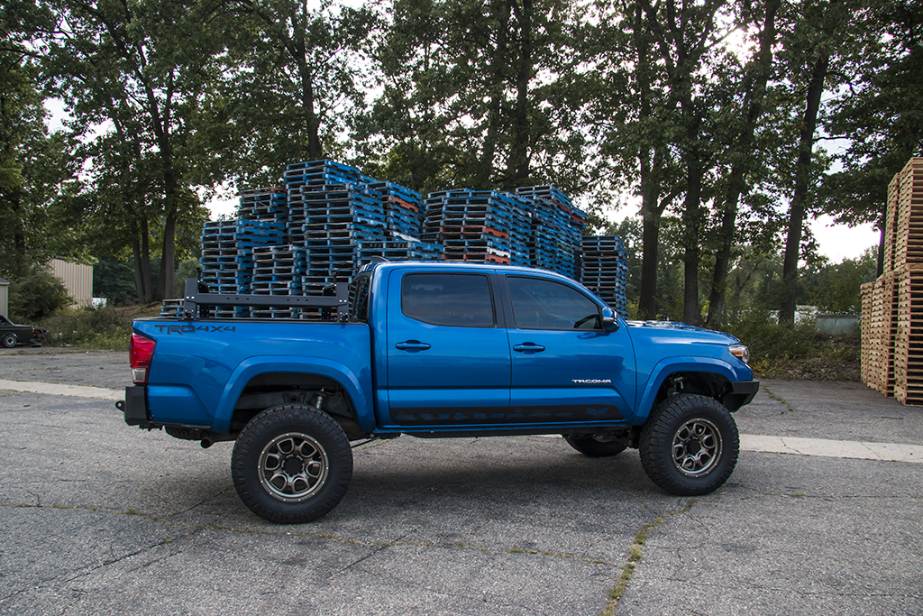 modular truck rack