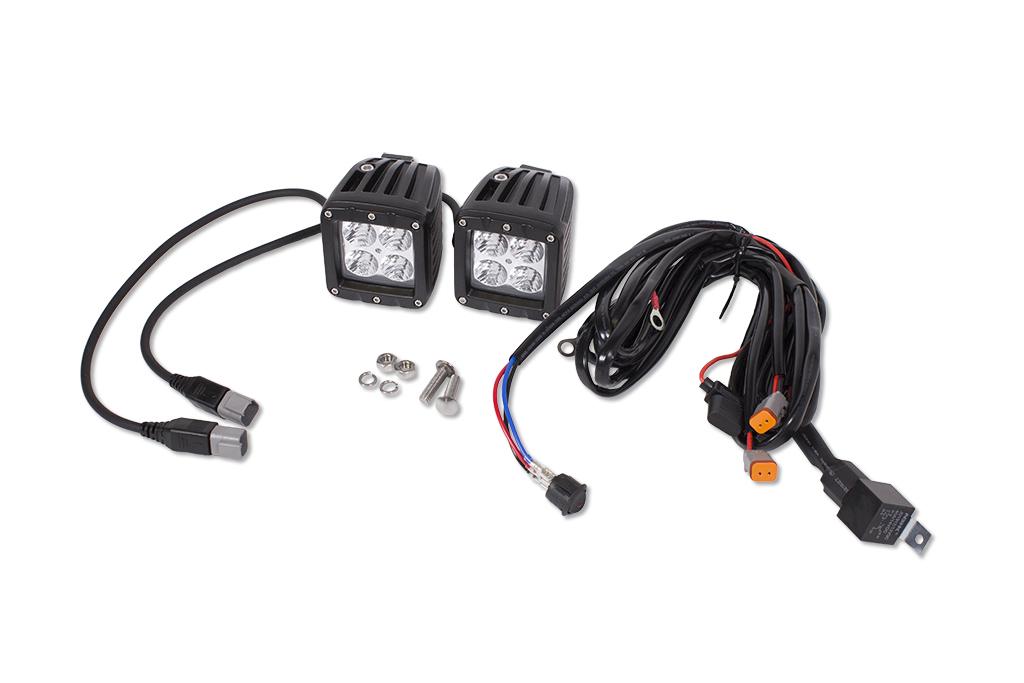 led 3x3 cube lights