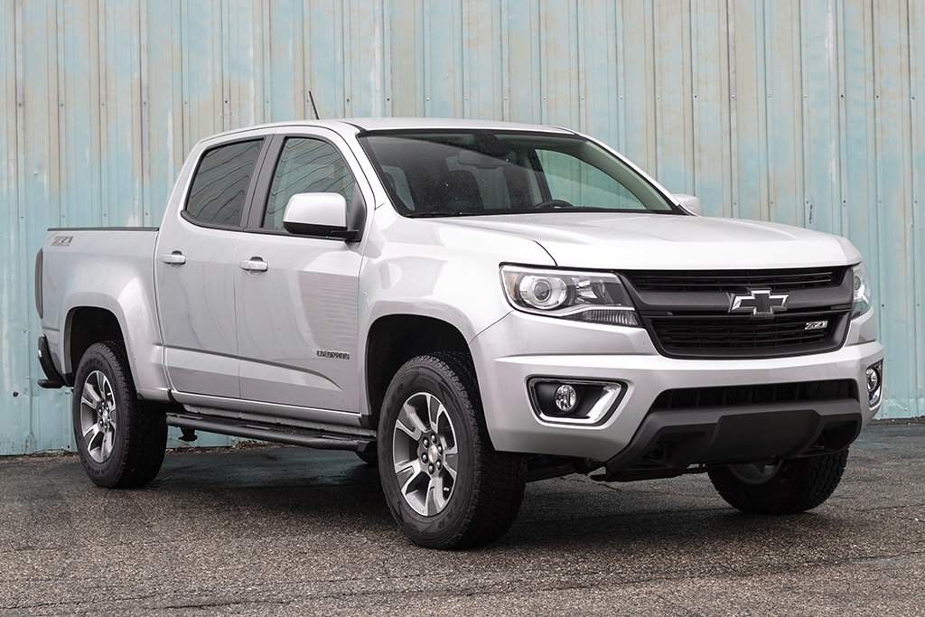 Chevy Colorado Rock Sliders Strike 2nd Gen 15 Victory 4x4