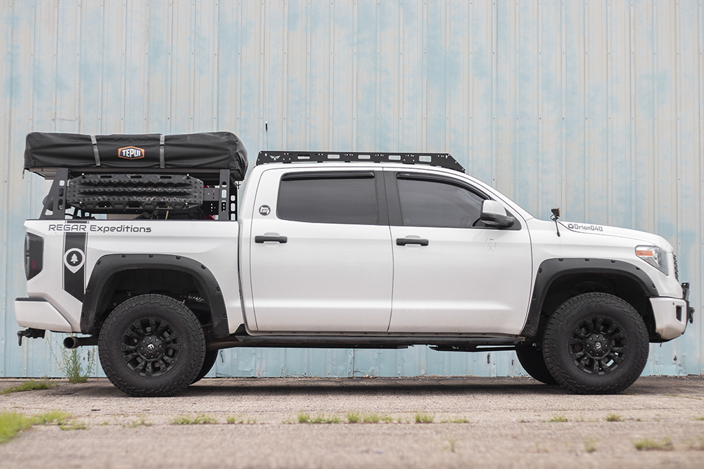 Tundra Bed Rack Modular Base Full Size Truck Bed Rack Victory 4x4