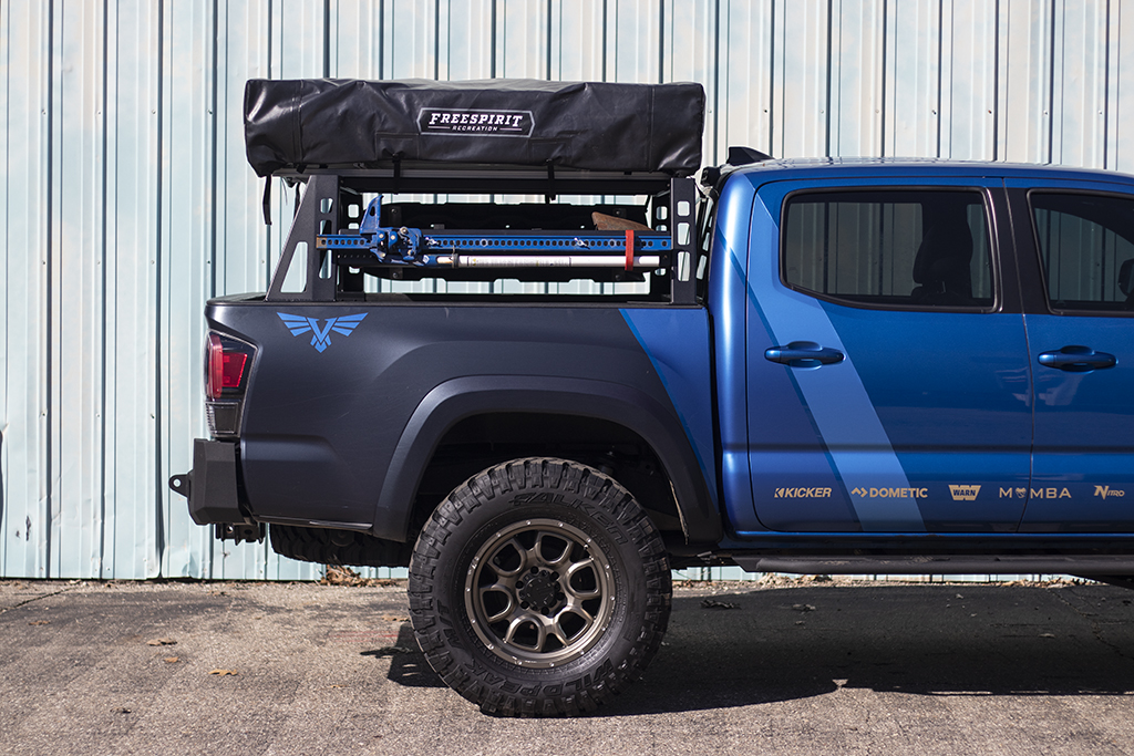 Tacoma Bed Rack Modular Base Mid Size Truck Bed Rack Victory 4x4