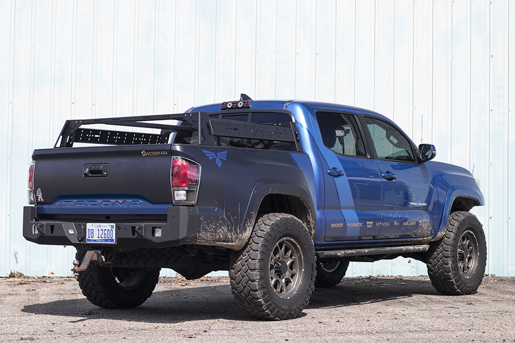 Bed Rack Tacoma >> Tacoma Bed Rack Modular Base Mid Size Truck Bed Rack Victory 4x4