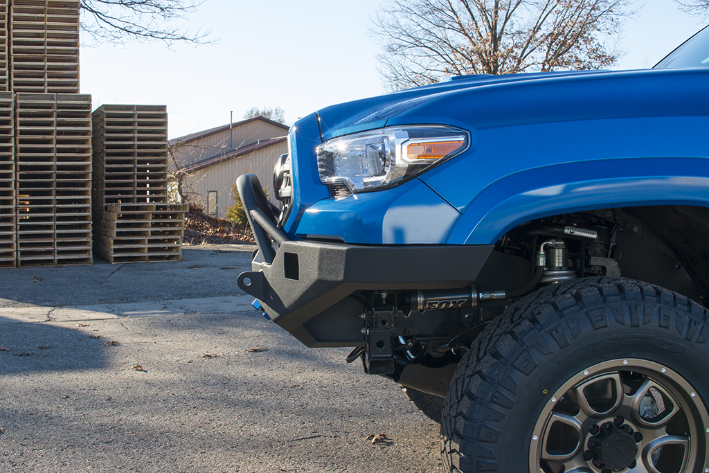 Toyota Tacoma Lifted >> Victory 4x4 Strike Front Bumper with Tubework - Toyota Tacoma 3rd Gen (16+) - Victory 4x4