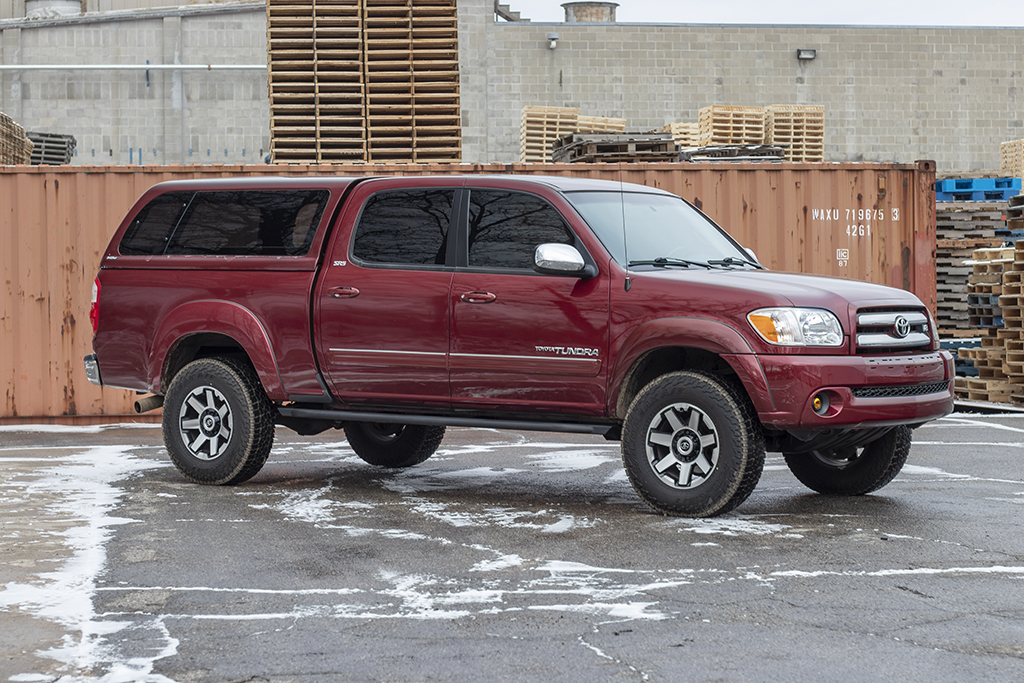 Tundra Rock Sliders Strike 1st Gen 00 06 Victory 4x4